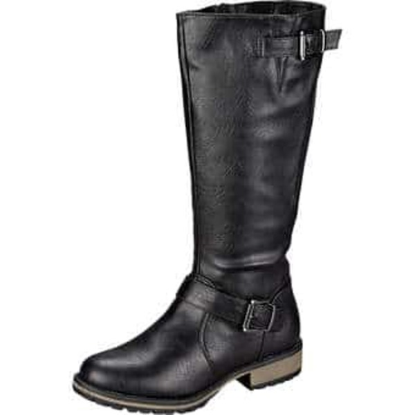 best loved cf198 d1957 Inspired Shoes Langschaftstiefel Damen schwarz