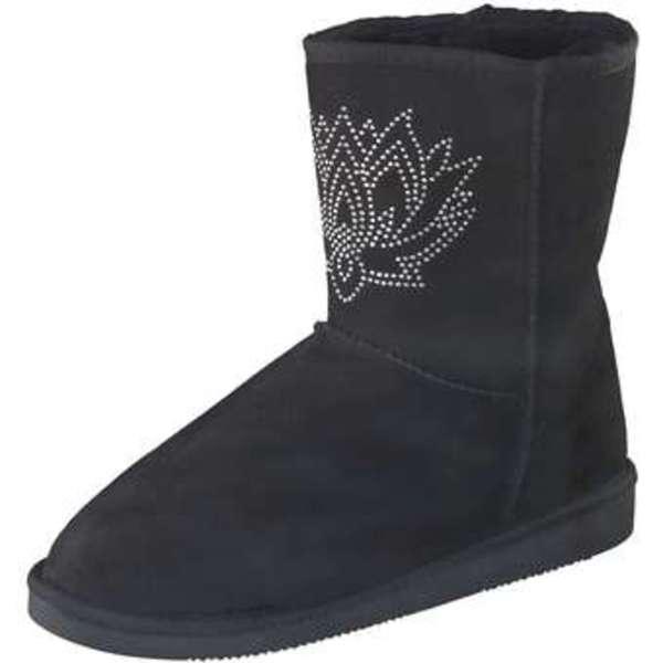 info for d3eb3 cbce1 Inspired Shoes Winter Boots Damen schwarz