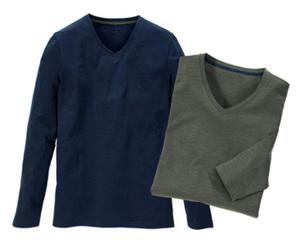 watson´s Basic-Langarmshirts, 2 Stück