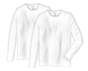 watson´s Langarmshirts, Weiß, 2 Stück