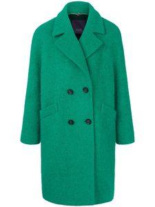 Mantel Reverskragen Laurèl grün