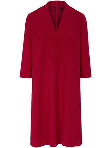 Kleid 3/4-Arm Windsor rot