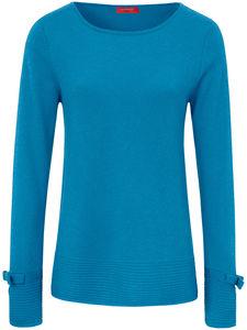 Pullover aus reinem Kaschmir Laura Biagiotti Donna blau