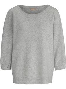 Rundhals-Pullover aus 100% Kaschmir include grau