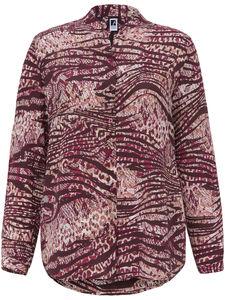Bluse aus 100% Seide Anna Aura pink