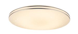 Globo Lighting, Deckenleuchte Metall weiß, 1xLED
