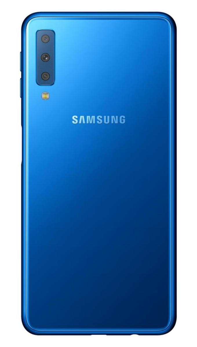 Bild 2 von Samsung Galaxy A7 (2018) 64GB, blue