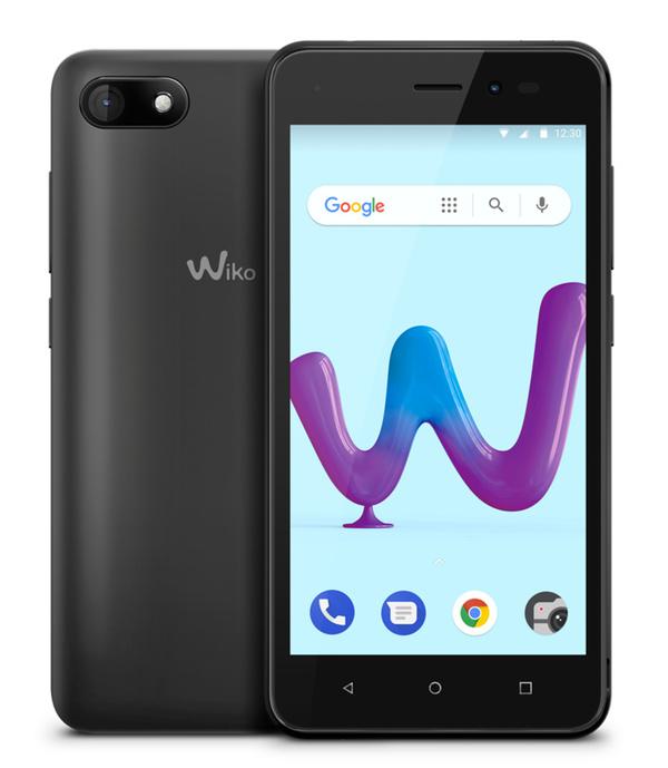 Wiko Smartphone Sunny 3 (anthrazit)