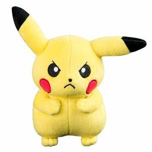 Pokemon Pikachu Plüsch (20 cm) grimmig, T19310