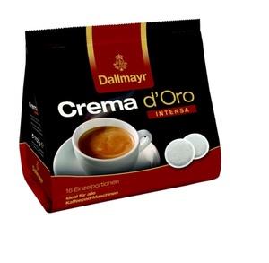 Dallmayr Crema d'Oro Intensa | 16 Kaffeepads