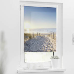 Rollo 80 x 150 cm mit Digitaldruck, Ostseestrand