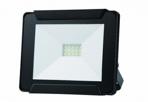 Trendline LED Fluter 10 W ,  schwarz