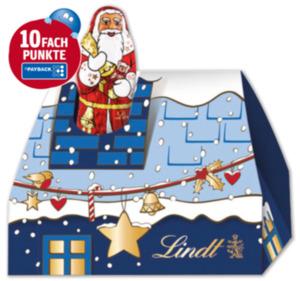 LINDT Santa im Mini-Schornstein