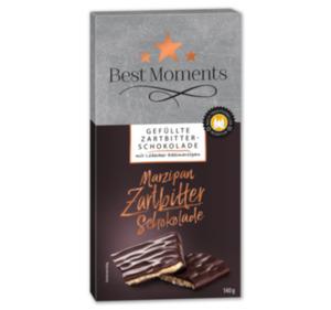 BEST MOMENTS Gefüllte Zartbitterschokolade