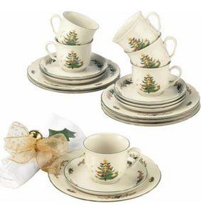 Seltmann Weiden Kaffeeservice, Porzellan, 18 Teile, »Marieluise Weihnachten«