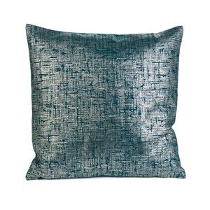 GÖZZE Kissenbezug CORA 40 x 40 cm in Blau/Grün