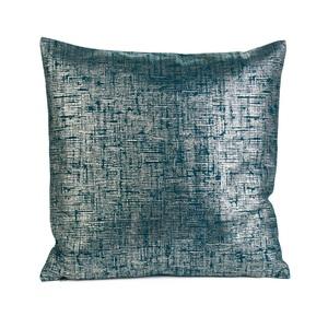 GÖZZE Kissenbezug CORA 50 x 50 cm in Blau/Grün