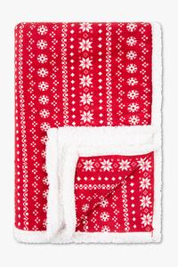 Weihnachtsdecke - 125 x 175 cm