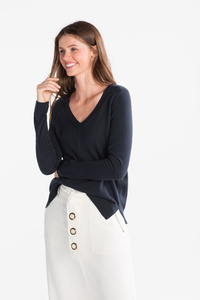 Yessica         Basic-Pullover