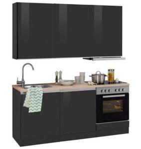 HELD MÖBEL Küchenzeile mit E-Geräten »Ohio«, Breite 180 cm
