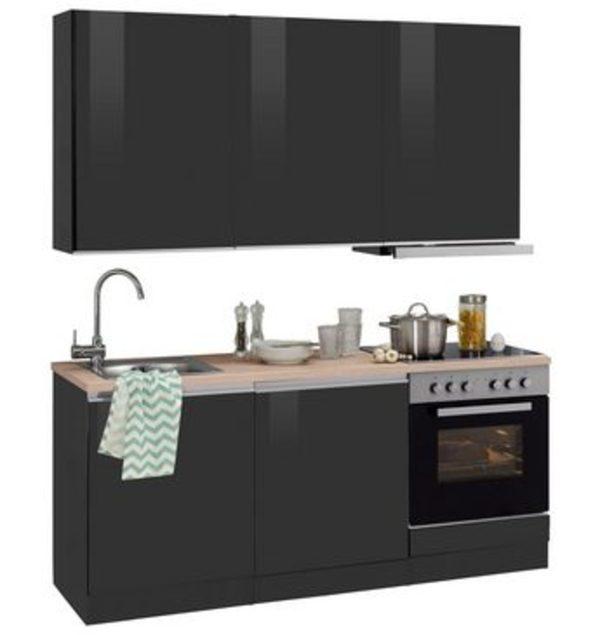 HELD MÖBEL Küchenzeile Mit E Geräten »Ohio«, Breite 180 Cm