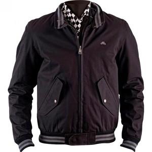 Helstons            Varsity Textiljacke schwarz 3XL