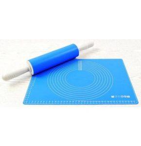 Ambikon Silikonteigroller mit Backmatte