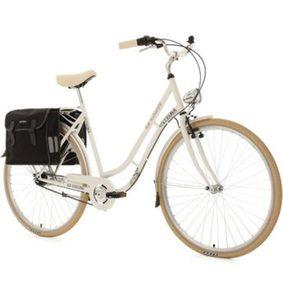 KS Cycling Cityrad »Verona«, 7 Gang Shimano Nexus Schaltwerk, Nabenschaltung, (Set, mit Doppeltasche)
