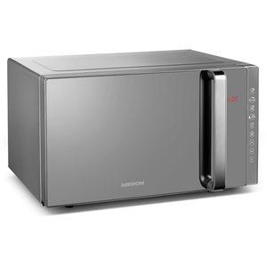 MEDION 3in1 Mikrowelle MD 17495, Kombination aus Mikrowelle, Grill und Ofen, 10 Automatikprogramme, edles Design