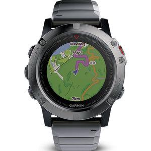 Garmin Smartwatch Fenix 5X Saphir Slate 40-30-6598