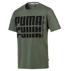 PUMA             T-Shirt, Logo-Print, Rundhalsausschnitt, für Herren