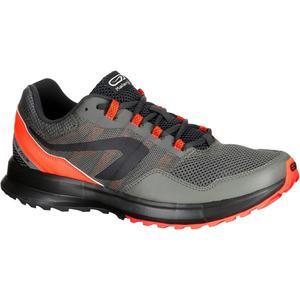 Laufschuhe Run Active Grip Herren kaki/rot