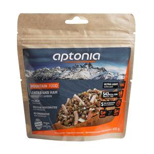 Outdoor-Trockenmahlzeit Schinken mit Linsen 130 g