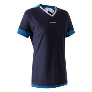 Fußballtrikot F500 Damen marineblau