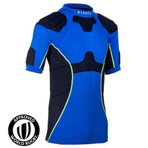 Rugby Schulterschutz Full H 500 Erwachsene blau