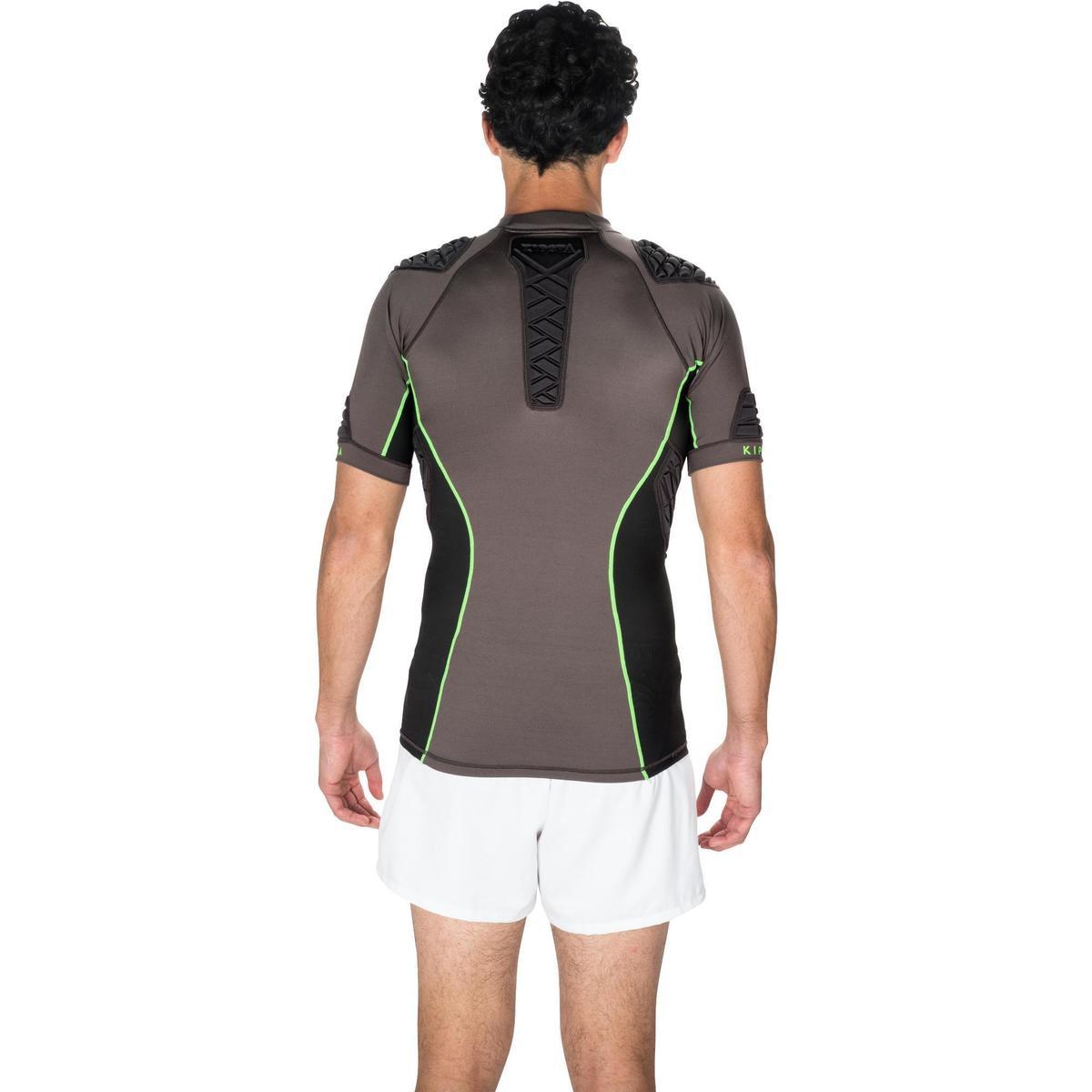 Bild 4 von Rugby-Schulterschutz Full H 900 Erwachsene grau/grün