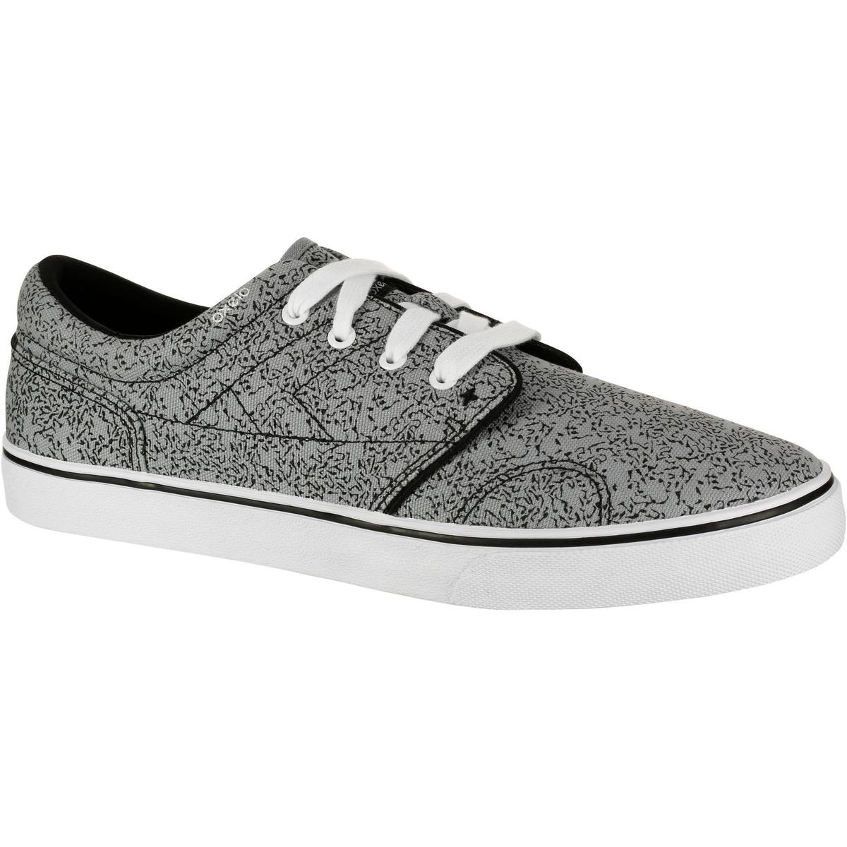 Bild 1 von Skaterschuhe Sneaker Vulca Canvas Erwachsene grau