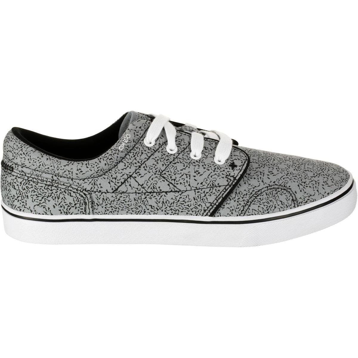 Bild 2 von Skaterschuhe Sneaker Vulca Canvas Erwachsene grau