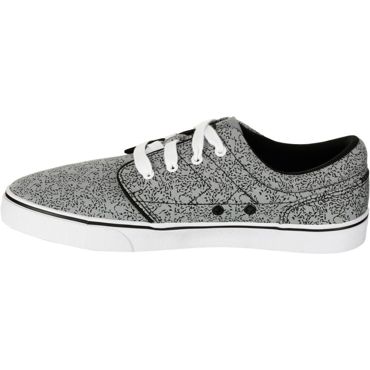 Bild 3 von Skaterschuhe Sneaker Vulca Canvas Erwachsene grau