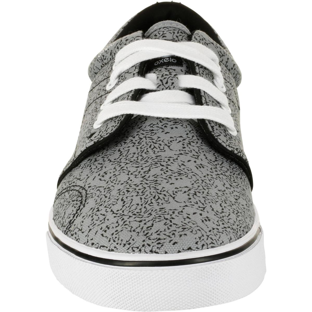 Bild 4 von Skaterschuhe Sneaker Vulca Canvas Erwachsene grau