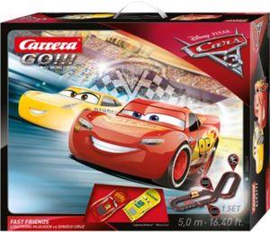 CARRERA GO!!! 62419 Disney/Pixar Cars 3 - Fast Friends