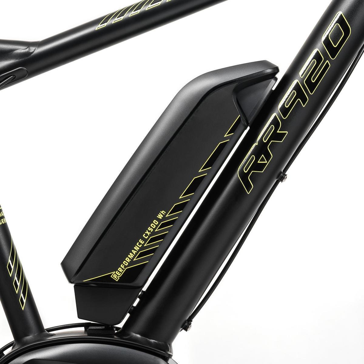 Bild 3 von E-MTB RR920 Performance CX 2018 500WH Alu schwarz/gelb