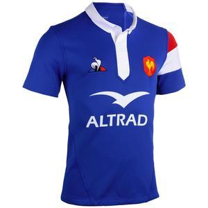 Rugbytrikot Replica Frankreich Heimtrikot 2018/2019 Erwachsene blau