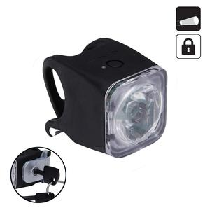 LED-Fahrradbeleuchtung Frontlicht VIOO 500 USB Road diebstahlsicher
