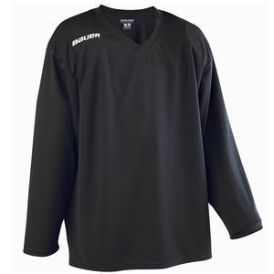 Eishockey-Trikot B 200 Erwachsene schwarz