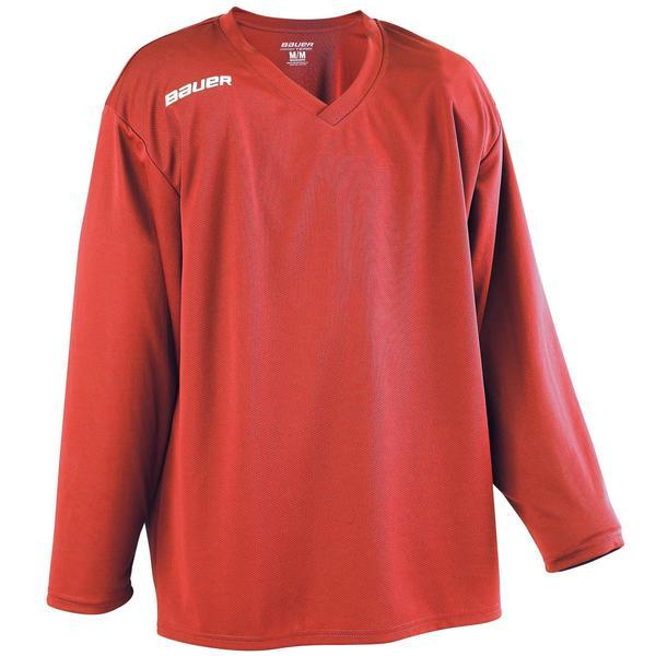 Eishockey-Trikot B 200 Kinder rot