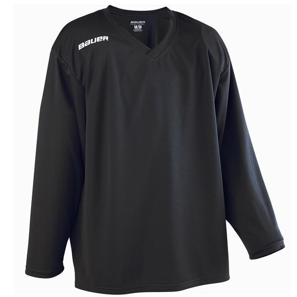 Eishockey-Trikot B 200 Kinder schwarz