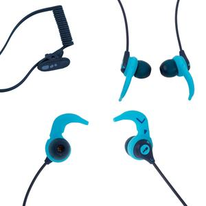 Kopfhörer-Set MP3 wasserdicht V2 blau