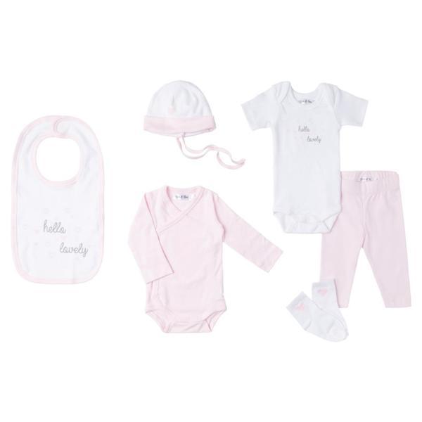 Baby Set 6-teilig für Mädchen