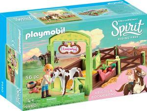 PLAYMOBIL 9480 Pferdebox Abigail und Boomerang